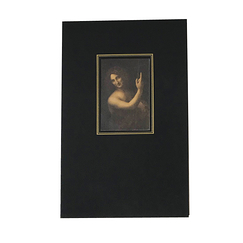 Notebook Leonardo da Vinci - Saint John the Baptist