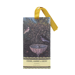 Pompeii Fragrant sachet - Cedar, amber and Musk