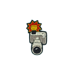 Telephoto lens Brooch - Macon & Lesquoy