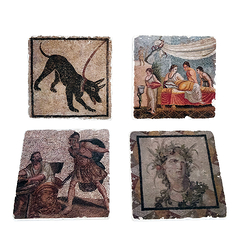 Set of 4 Coasters Pompeii - Studio Vertu Europe