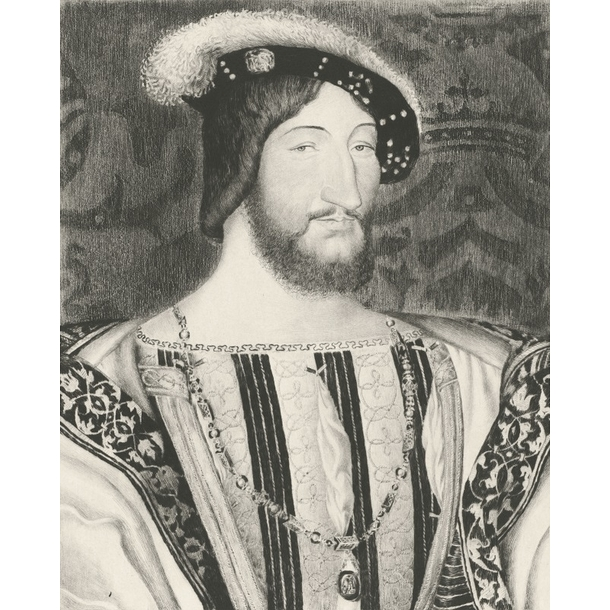 Portrait of Francis the 1st, King of France (in 1515)