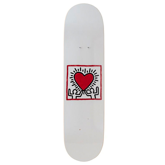 Skateboard Keith Haring Untitled (Heart) - The Skateroom
