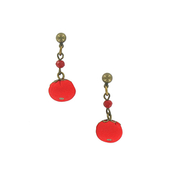 April Earrings - Red