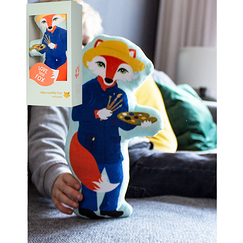 Mini Cuddly toy Vincent Fox - Painted - Love this Fox
