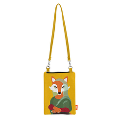 Mini pochette Renard Mona - Painted - Love this Fox