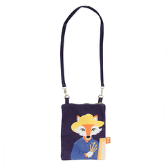 Mini Pouch Vincent Fox - Painted - Love this Fox