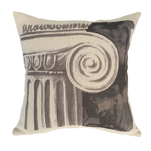 Cushion cover Column - Grey - Pansu