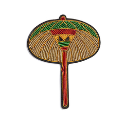 Umbrella Brooch - Macon & Lesquoy