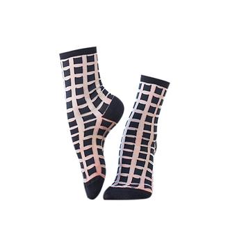 Ginza Socks Black - Atelier St Eustache - 36/38