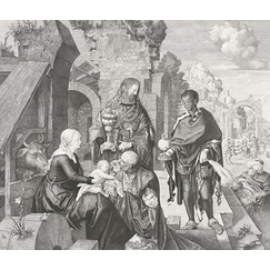 The Adoration of the Magi - Albrecht Dürer