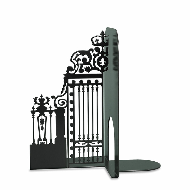 Gate of the Court of Honour Bookend - Matt black - Left