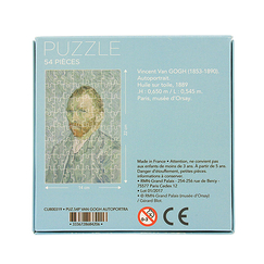 54 pieces jigsaw puzzle - Van Gogh - Self-portrait