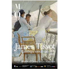 Exhibition poster James Tissot Ambiguously modern - The Gallery of HMS Calcutta