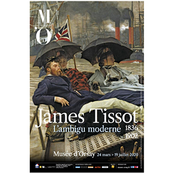 Exhibition poster - James Tissot Ambiguously modern - The thames