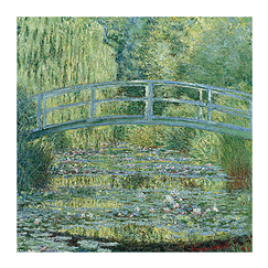 Poster Claude Monet - The water lily pond, green harmony