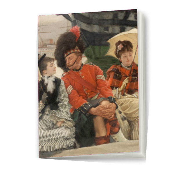 Notebook James Tissot - Portsmouth Dockyard