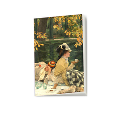 James Tissot - Holyday Small Notebook
