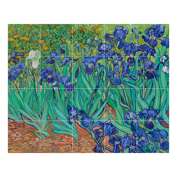 Wall decoration - Irises by Van Gogh - IXXI