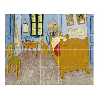 Wall decoration - Bedroom in Arles by Van Gogh - IXXI
