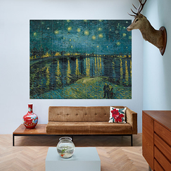 Wall decoration - Starry Night Over the Rhône by Van Gogh - IXXI