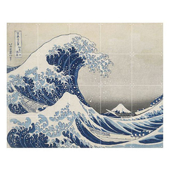 Wall decoration - The wave by Hokusai - IXXI