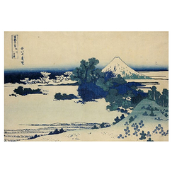 Wall decoration - Shichiri beach in Sagami Province by Hokusai - IXXI