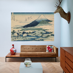 Wall decoration - Umezawa in Sagami Province by Hokusai - IXXI