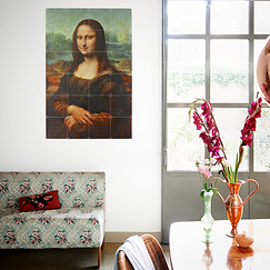 Wall decoration - Mona Lisa by Leonardo da Vinci - IXXI