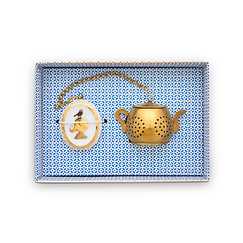 Tea Infuser Medallion Royal White - Neotilus