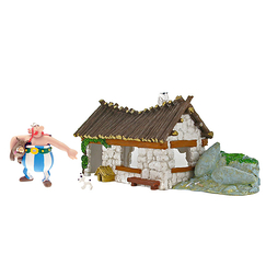 Home and figurines Obelix and Idefix Boxset
