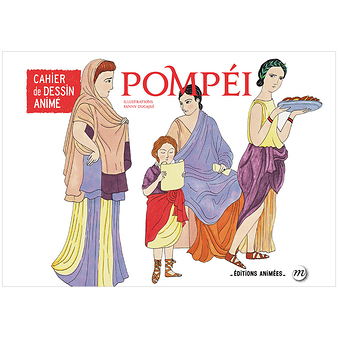 Pompeii - Cartoon book