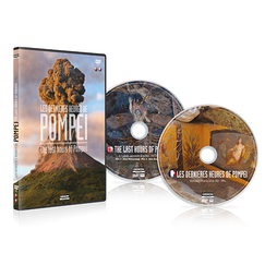 DVD The last hours of Pompeii - 2 DVD