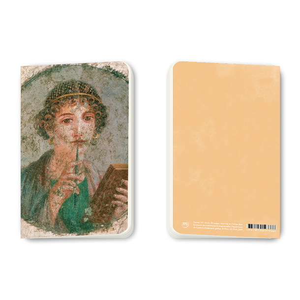 Small notebook Pompeii - Portrait of a young woman called Sappho