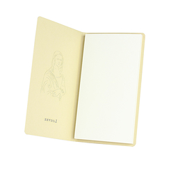 Mona Lisa Champagne Notebook - Louvre