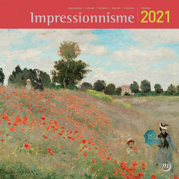 Impressionism Large Calendar 2021 | Boutiques de Musées