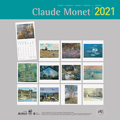Claude Monet Large Calendar 2021