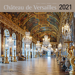Palace of Versailles Large Calendar 2021