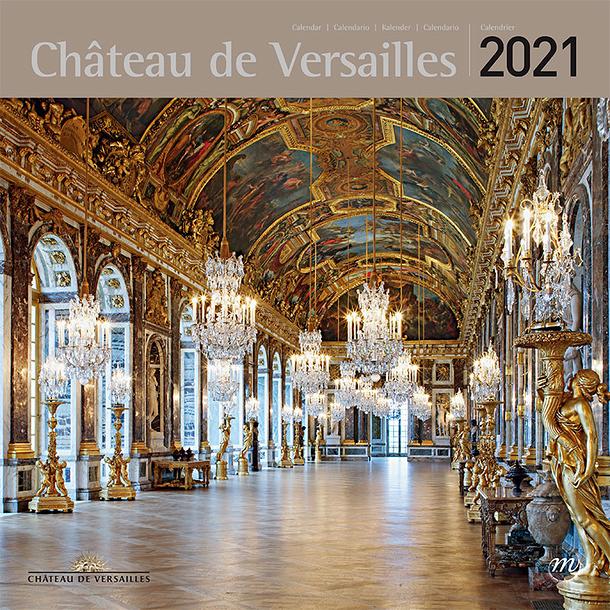 Palace of Versailles Large Calendar 2021 | Boutiques de Musées