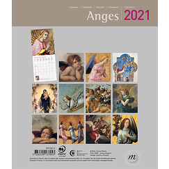 Calendrier 2021 Anges - Petit format