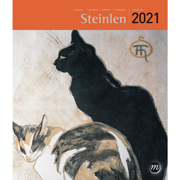 Calendrier 2021 Petit Format Calendrier 2021 Steinlen   Petit format | Boutiques de Musées