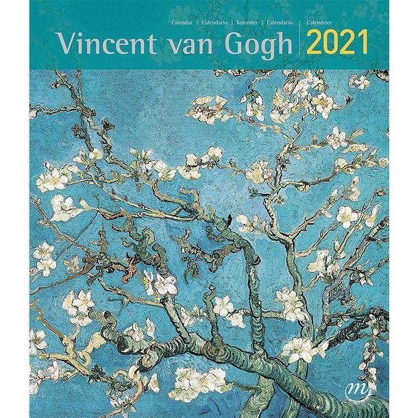 Van Gogh 2021 Calendar   Small | Boutiques de Musées