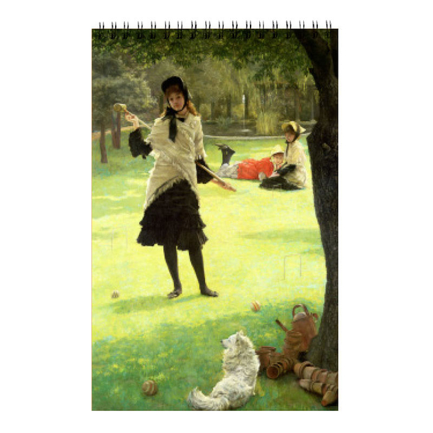 James Tissot - Croquet Sketchbook A5