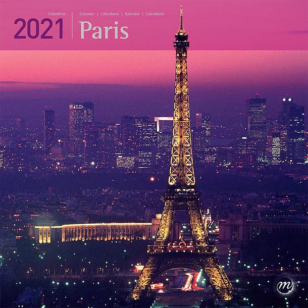 Paris Large Calendar 2021 | Boutiques de Musées