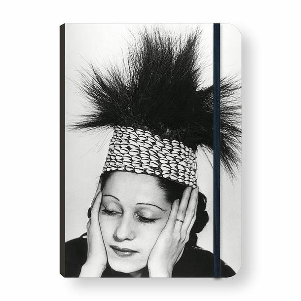Man Ray - Fashion in Congo Notebook with elastic