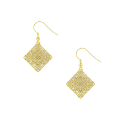 """Rinceaux"" earrings"