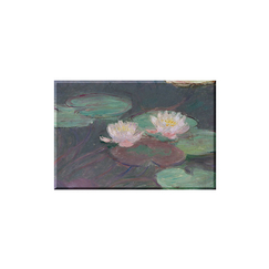 Claude Monet - Pink Waterlilies Magnet