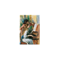 Pierre Auguste Renoir - Young Girls at the Piano Magnet