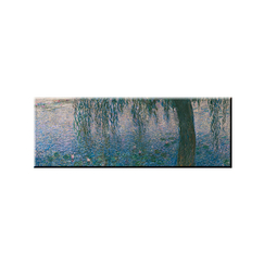 Claude Monet - Clear Morning with Willows Magnet