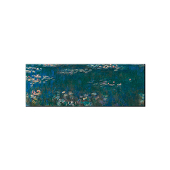 Claude Monet - The Water Lilies: Green Reflections Magnet