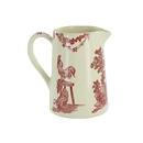 "Cream jug Toile de Jouy ""The Delights of the Four Seasons"""